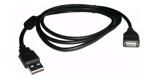 Extensión USB negro ( 5 M)