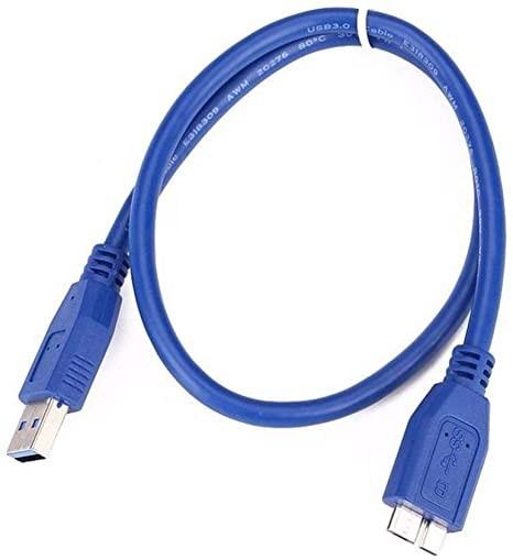 Cable para disco duro 3.0 azul