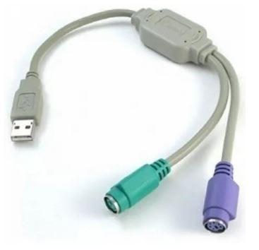 Convertidor de USB a PS2 ( teclados y  mouse antiguos)