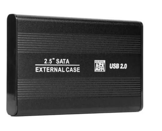 Caja para disco duro 2.5 HDD 2.0 (sencilla)