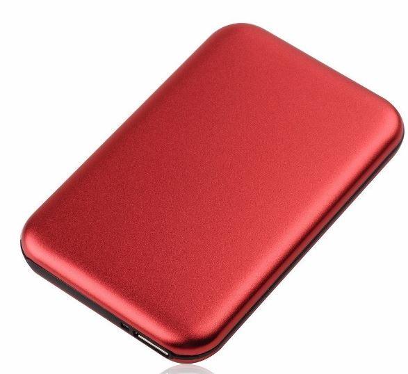 Caja para disco duro 2,5 USB 3,0 (tipo samsung) ( rojo)