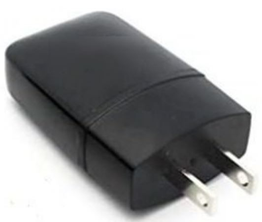 Cargador de pared 1 USB 1000 (800) MAH