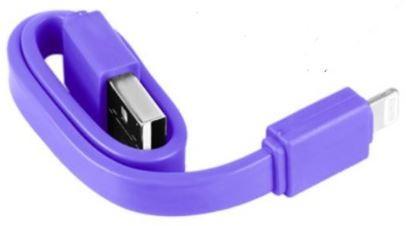 Cable flat V8 Samsung 20 CM ( purple) ( paquete x 10 UND)