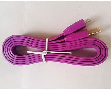 Cable flat V8 Samsung 20 CM ( purple) x 1