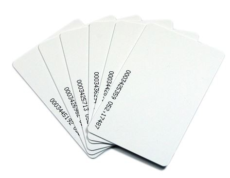 Rfid card (blanca numérica)