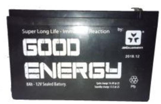 Bateria para alarmas 12v 8ah ( para UPS y alarmas)