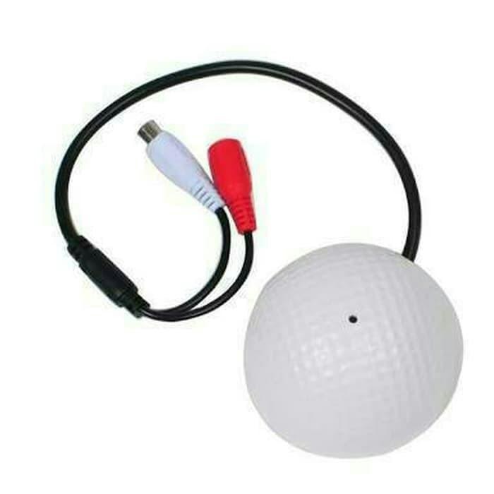 Micrófono CCTV bola golf