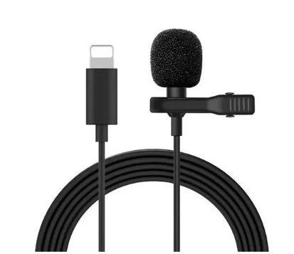 Micrófono solapa para Iphone
