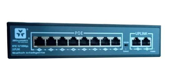 POE Switch 8p 24 v