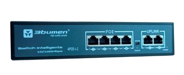 POE Switch 4P 24 V