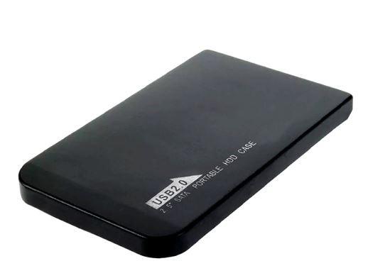 Caja para disco 2.5 USB 2.0 plastica