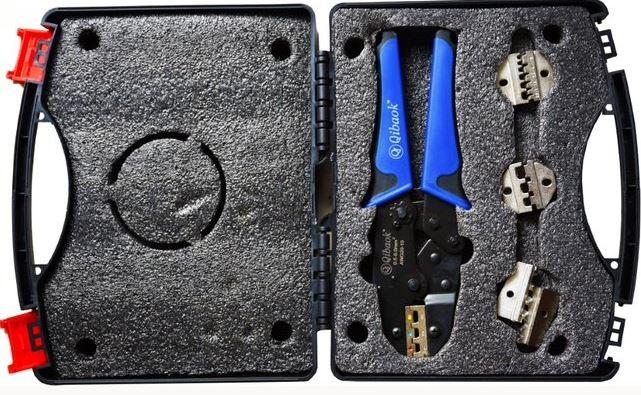 Kit de herramientas para instalacion de multiples conectores electricos