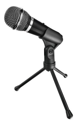 Micrófono para Pc+trípode (conexion 3.5mm)