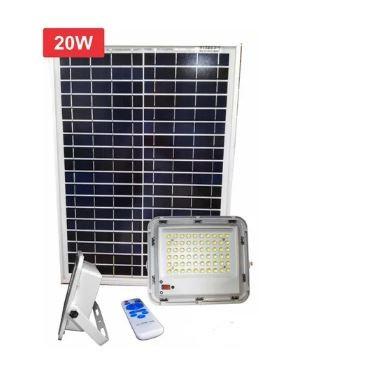 Kit solar programable reflector 100W Lámpara+ panel 30W