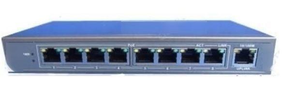 POE switch 8P 24V