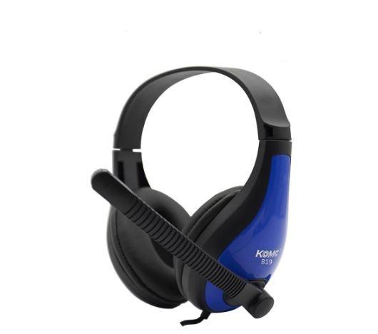 MIcrofono diadema Gamer B19 (Azul)