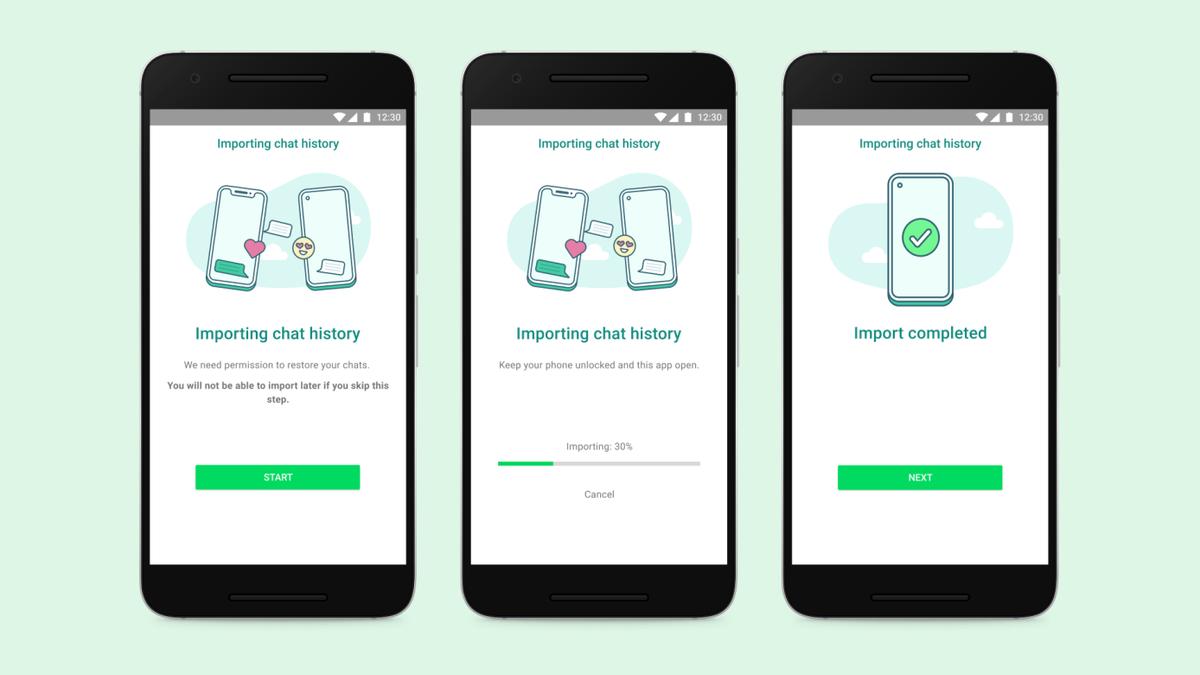 WhatsApp dejará por fin transferir mensajes entre iOS y Android