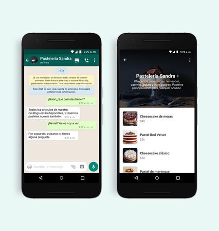 Aplicación de WhatsApp Business