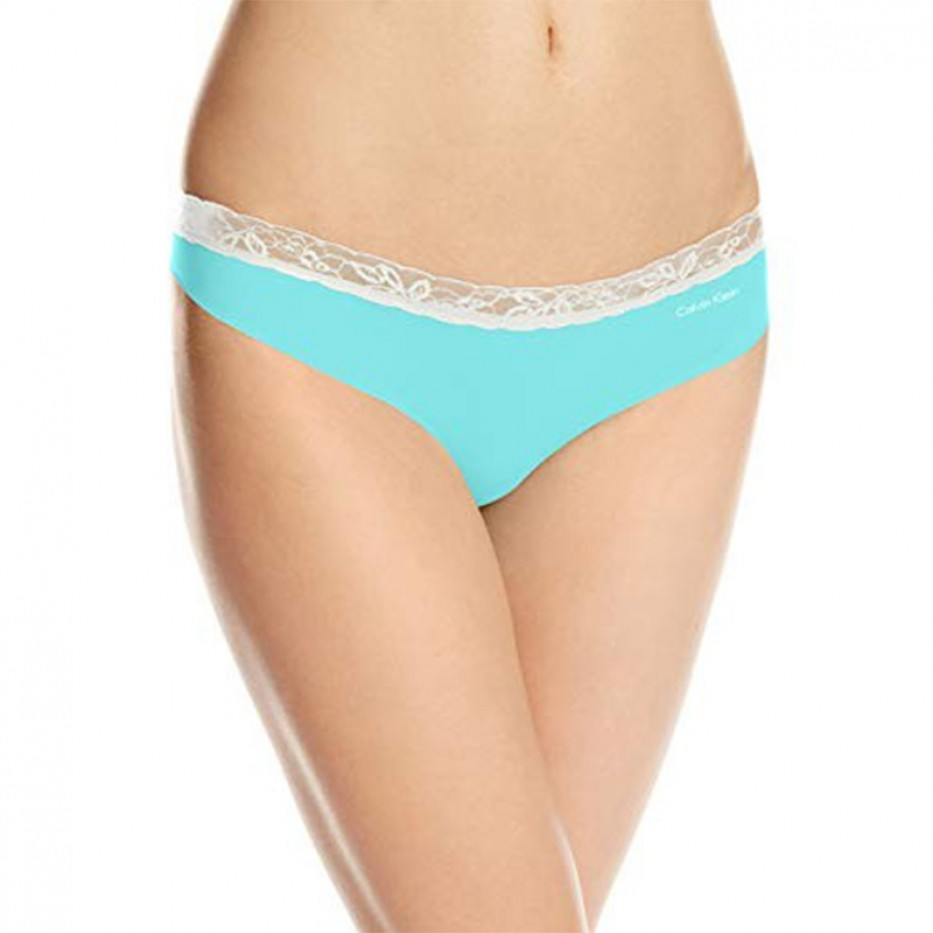 Calvin Klein Invisibles Lace Thong Panty XL