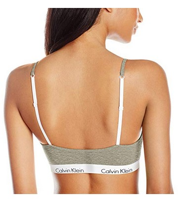 4be2464b5ed7ad Calvin Klein Ck One Cotton Unlined Bralette M