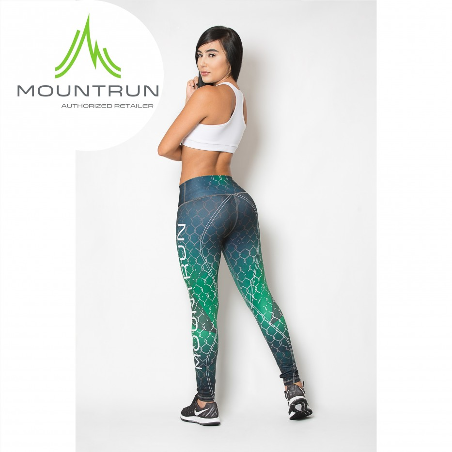 Mountrun Women's Workout Compression Pants (Cap)