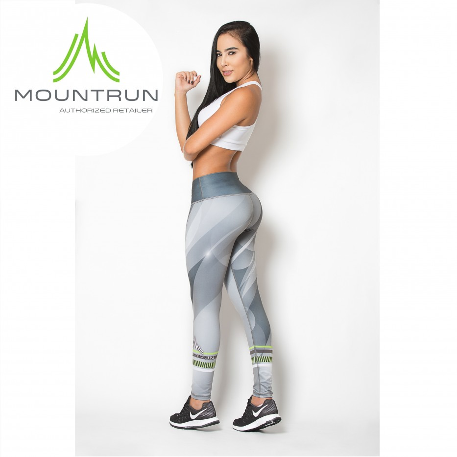 Mountrun Women's Workout Compression Pants (Cassio)