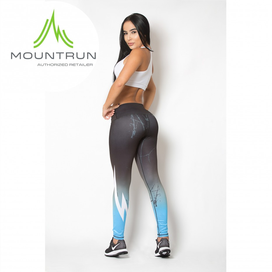 Mountrun Women's Workout Compression Pants (Lagos)