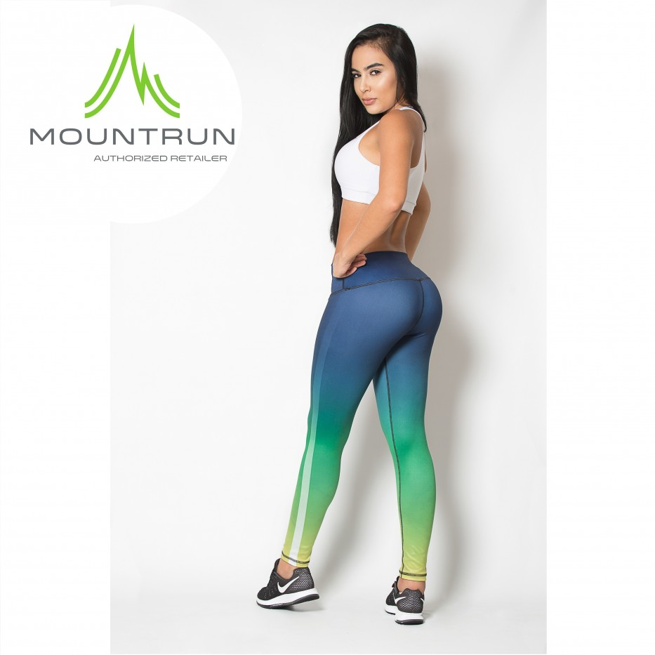 Mountrun Women's Workout Compression Pants (Lynx)