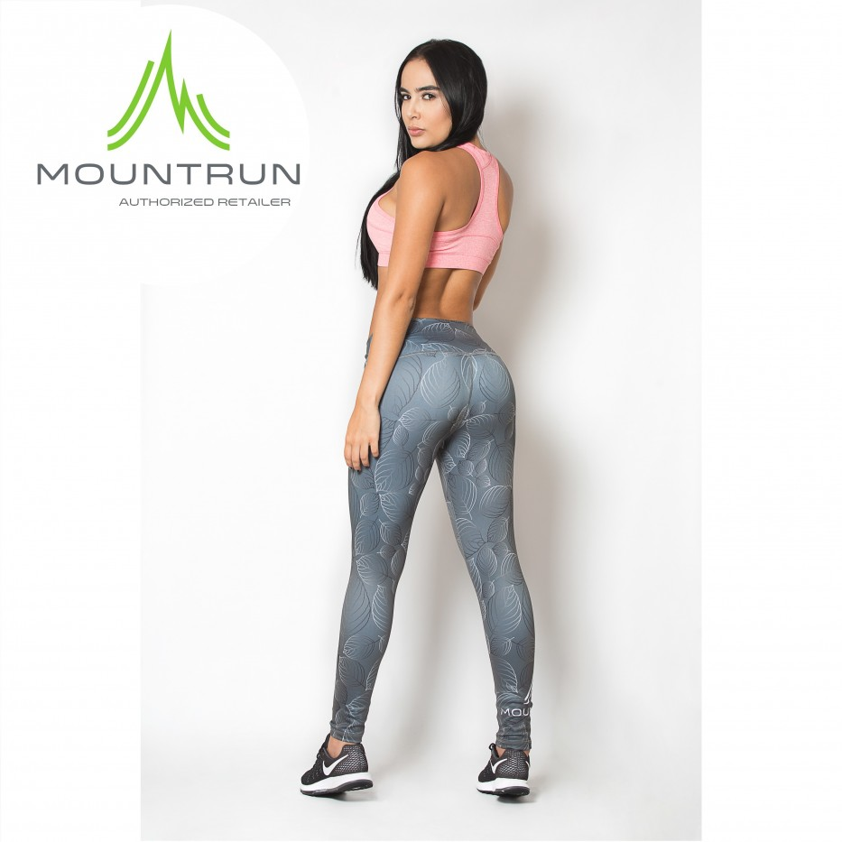 Mountrun Women's Workout Compression Pants (Maple)