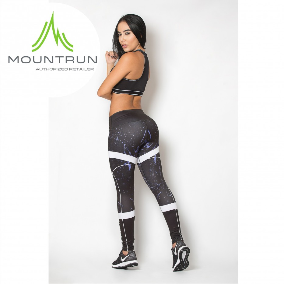Mountrun Women's Workout Compression Pants (Orion)