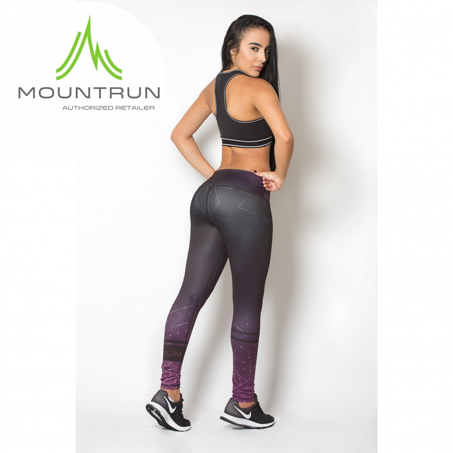 Mountrun Women's Workout Compression Pants (Pulse)
