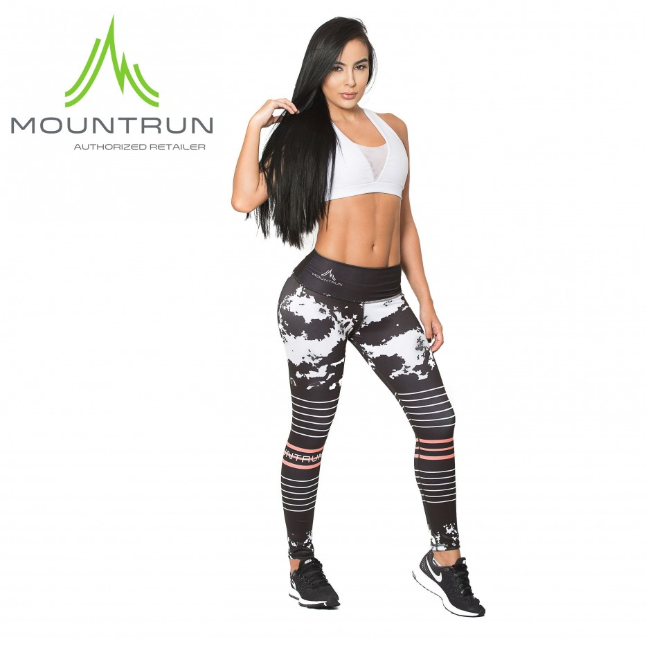 Mountrun Women's Workout Compression Pants (Strato)