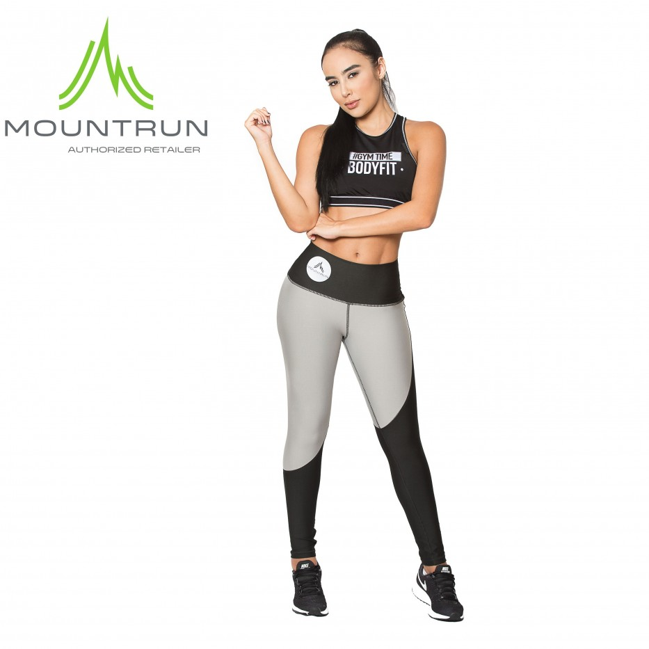Mountrun Women's Workout Compression Pants (Curves)