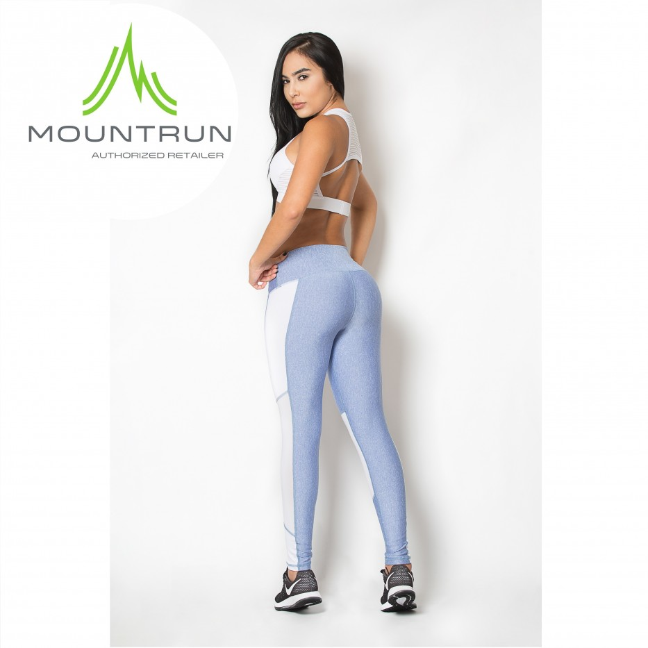 Mountrun Women's Workout Compression Pants (Net)