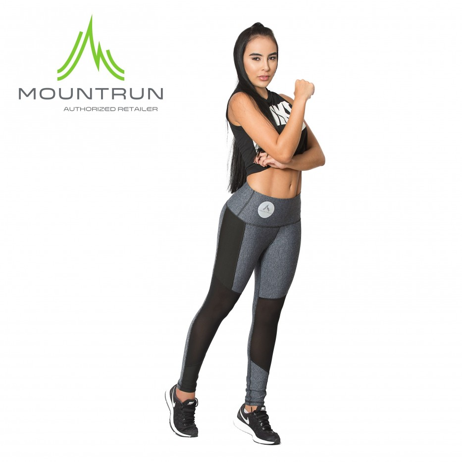 Mountrun Women's Workout Compression Pants (Patch)