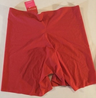 Spanx Light Control Perforated Girl Shorts L