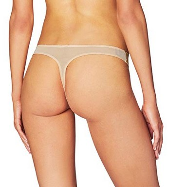 Heidi Klum French-Cut Lace Thong M