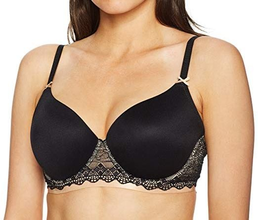 Heidi Klum Geometric Lace Full Coverage 38C