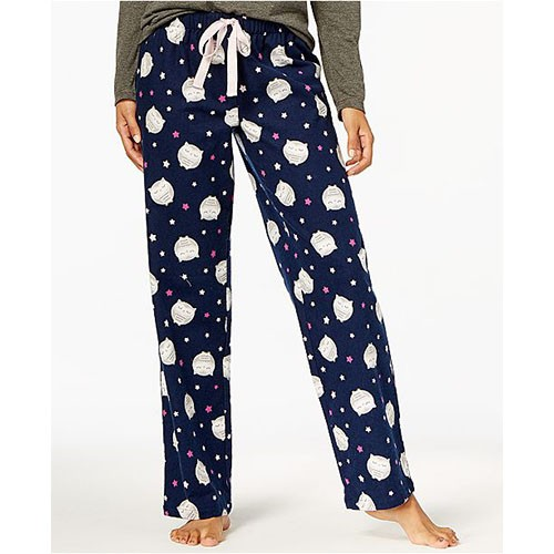 Jennifer Moore Printed Cotton Pajama Pants S