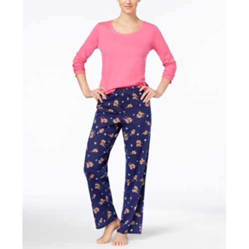 Jennifer Moore 2 Piece Fleece Pajama Set M