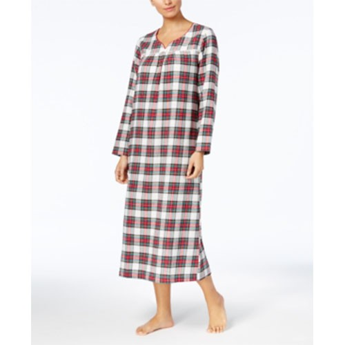 Charter Club Flannel Nightgown XS