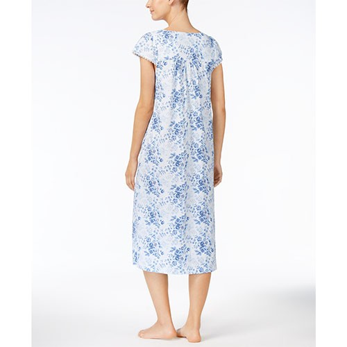 Charter Club Lace-Trimmed Nightgown S