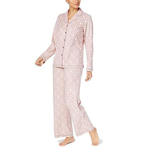 Charter Club Fleece Pajama Set XXL