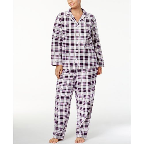 Charter Club Flannel Pajama Set XXL