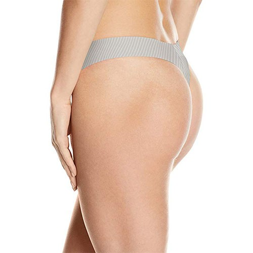 Calvin Klein Women's Invisibles Thong XL