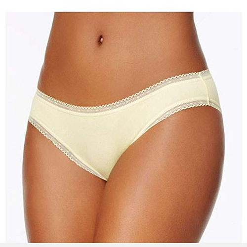 Charter Club Womens Cotton Lace-Trim Bikini M