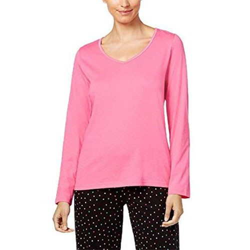 Charter Club Long Sleeve Pajama Top XS