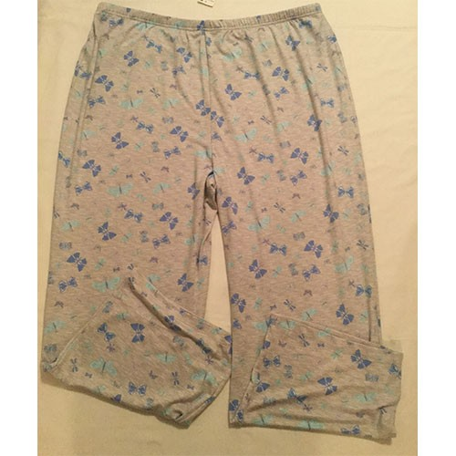 Charter Club Printed Pajama Pants XXXL