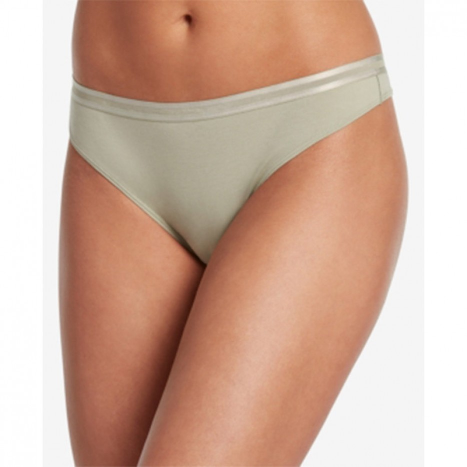 Jockey Soft Cotton Thong Panty L