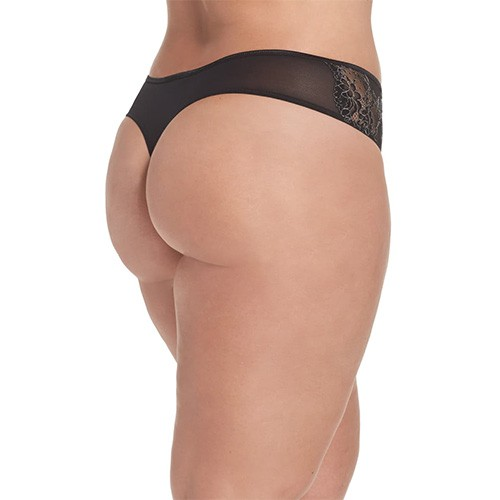 Ashley Graham Crisscross Lace Thong XL